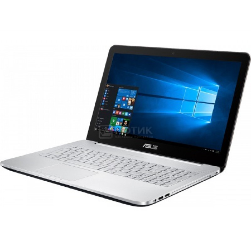 "Ноутбук N552VW (Intel Core i7 6700HQ 2600 MHz/15.6""/1920x1080/16Gb/2000Gb HDD/DVD-RW/NVIDIA GeForce GTX 960M/Wi-Fi/Bluetooth/Windows 10 Home (FY251T)"