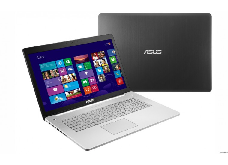 "N750JK Core i7 4710HQ 2500 Mhz / 17.3"" / 1920x1080 / 8.0Gb / 1000Gb / DVD-RW / NVIDIA GeForce GTX 850M / Wi-Fi / Bluetooth / Win 8 64"