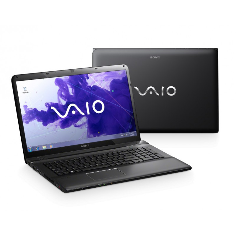 Ноутбук Vaio SVE1712V1R/B   Intel Core i5 2450M 2.5GHz/8192Mb/ 640Gb/ Blu-Ray/17.3 WUXGA/ ATI HD7650M 2048Mb / WiFi/BT/ Cam/ Win 7