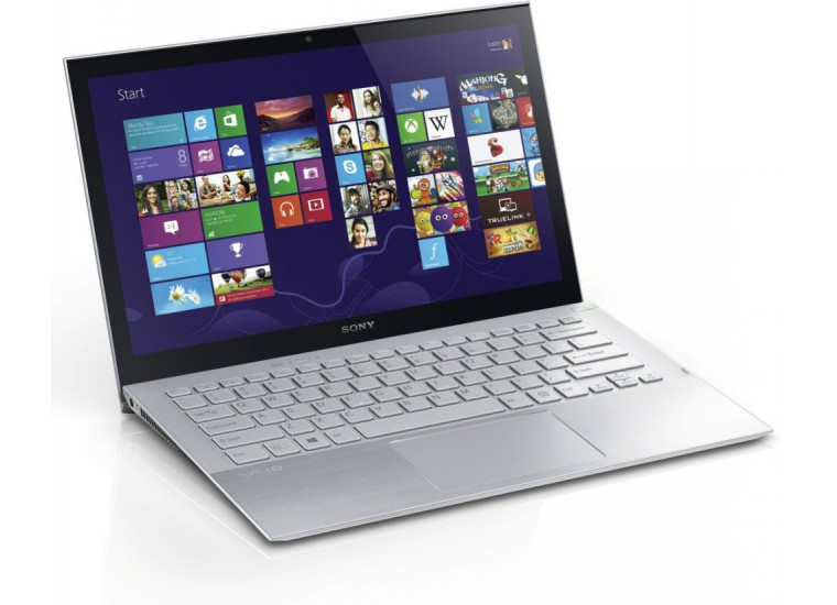 VAIO  SVP1321N6RS Intel Core i7 4500U 1.8Ghz / 8192 Мб / 512GB  / 13.3 WXGA / Intel HD Graphics 4400 /  BT / Wi-Fi / CAM /  Win 8 Pro (SVP1321N6R)
