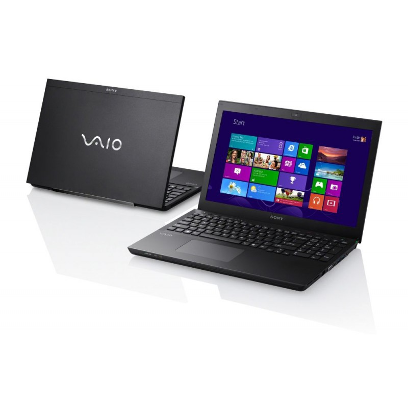 Ноутбук Vaio SVS1512X1RB Intel Core i7 3632QM 2.2Ghz/ 6Gb/ 640Gb/15.5 WXGA/NVIDIA GeForce GT 640M 2048Mb/DVD-RW/ Wi-Fi / BT/Cam/Win 8 (SVS1512X1R /B)