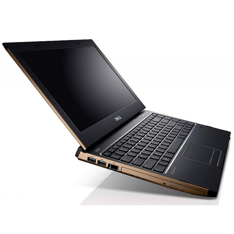 "Ноутбук Vostro 3350  Bronze Core i3 2330M 2.2Ghz/13.3"" WXGA/4096Mb/320Gb/DVDRW/ATI Radeon HD 6490M/WiFi/BT/Win 7 HB (Золотой)"