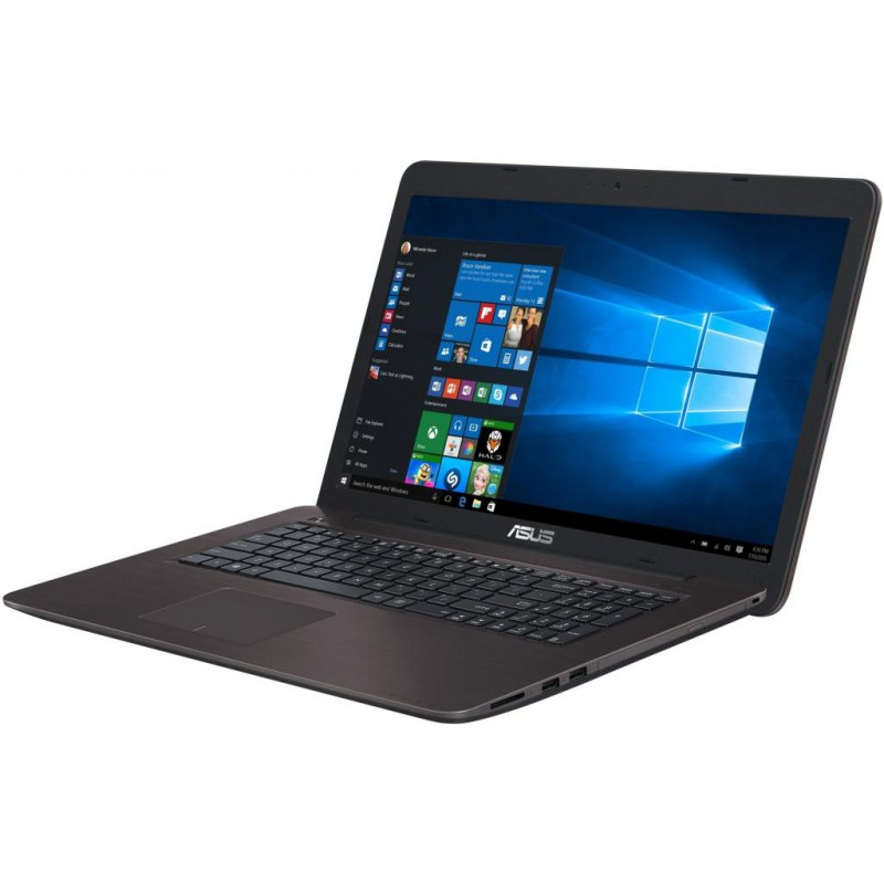 "Ноутбук X756UV-TY043T Intel Core i5 6200U 2300 MHz/17.3""/1600x900/4.0Gb/1000Gb/DVD-RW/NVIDIA GeForce 920MX/Wi-Fi/Bluetooth/Win 10 Home [90nb0c71-m00430]"